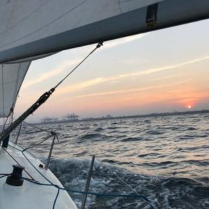 Sail J80 Sunset