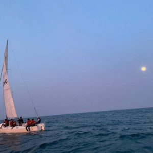 Full Moon - Sailing
